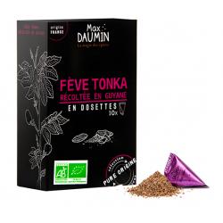 Fève Tonka Bio récoltée en Guyane - Max Daumin