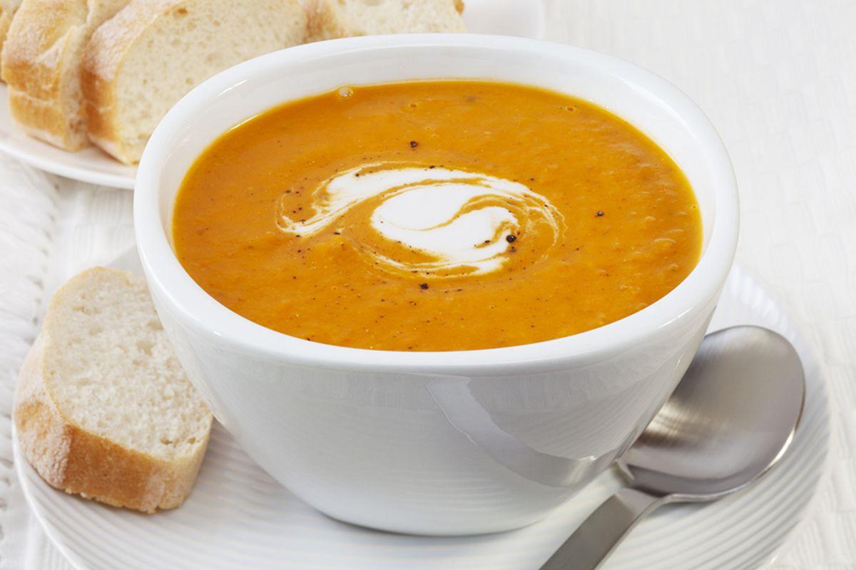 Soupe potiron et noix muscade par Stéphanie et Julian