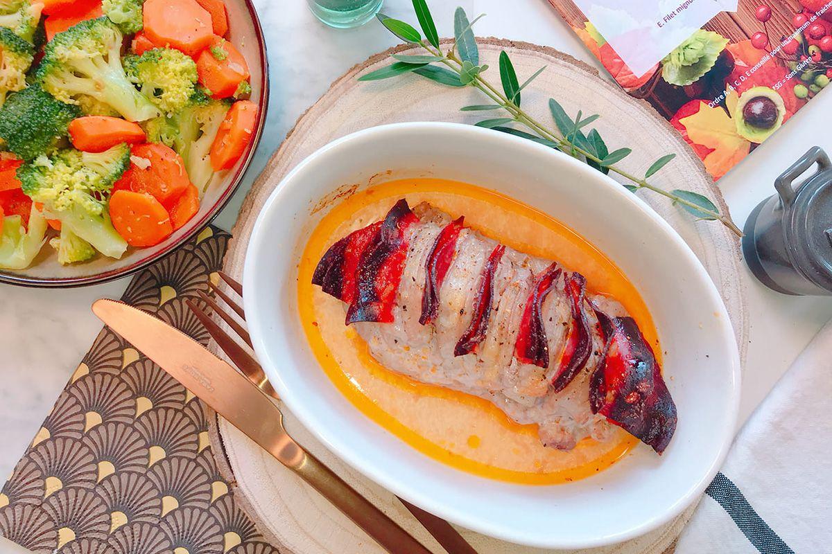 Filet mignon au chorizo et Paprika doux de Hongrie